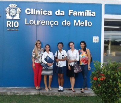 NA MÍDIA | Equipe de pesquisadoras do ECOS realiza oficina em centro municipal de saúde no RJ