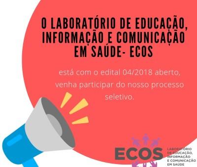 Inscrições Homologadas Edital 04/2018