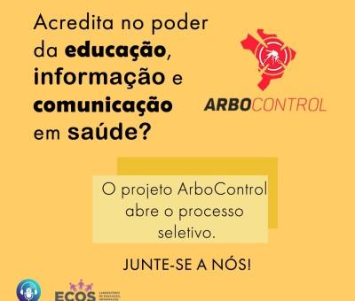 Edital nº 08/2019 – PIBEX – ArboControl