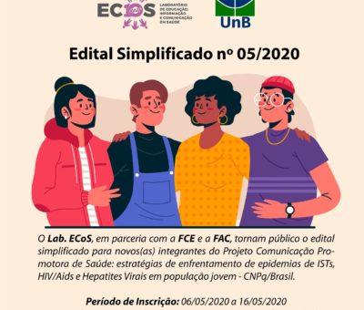 Edital nº 05/2020 – ECOS